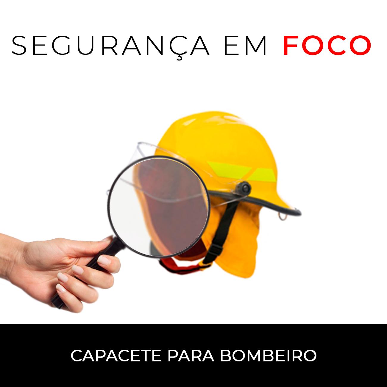 4133c9348512c Segurança em Foco  capacete para bombeiro