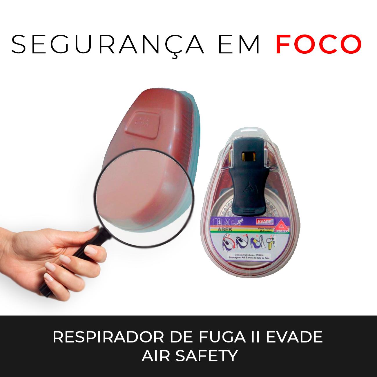 a7050ccc227bc Segurança em foco  Respirador de Fuga