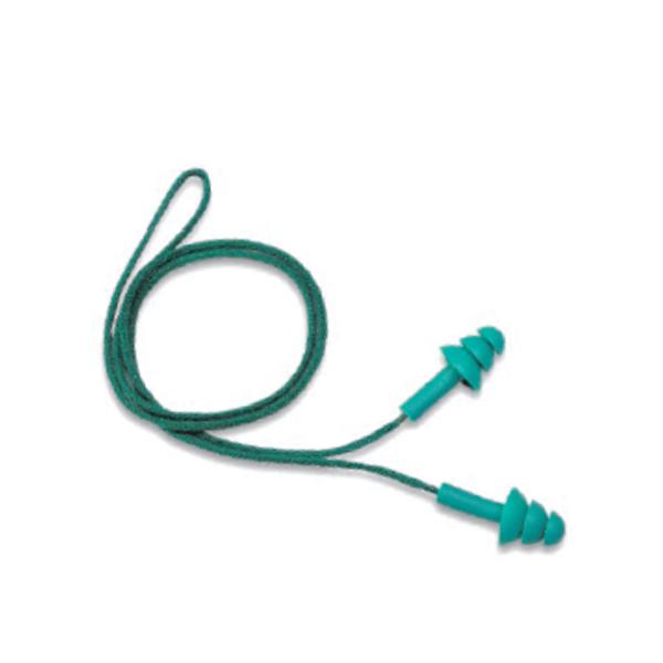 Plug silicone premium com cordão