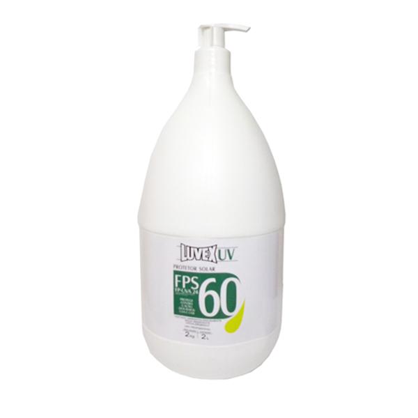 Protetor solar FPS 60 - 2 litros