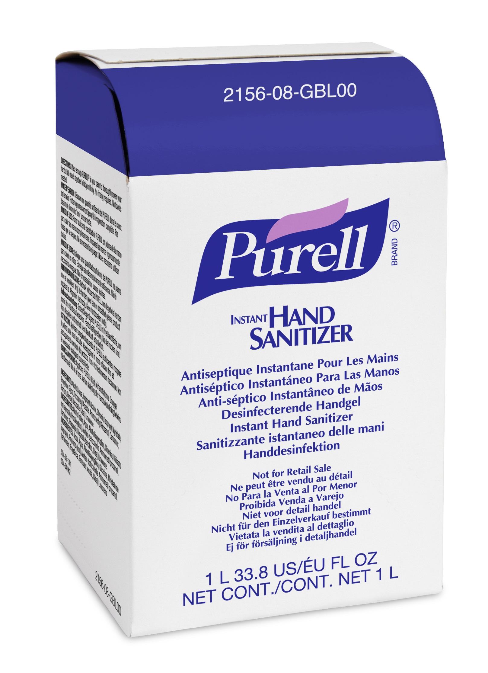 Refil gel antisséptico Purell 1000ml