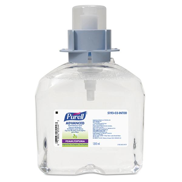 Antisséptico Purell® espuma - 1200ml