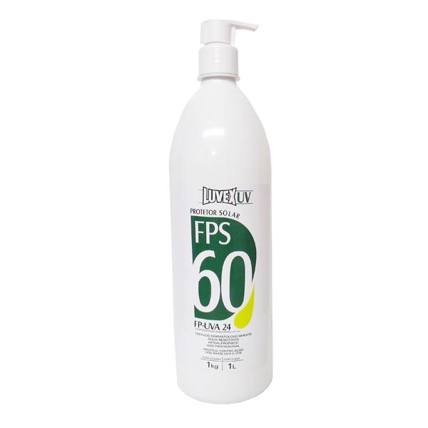 Protetor solar FPS 60 - 1 litro