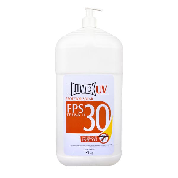 Protetor solar FPS 30 com repelente - 4 litros