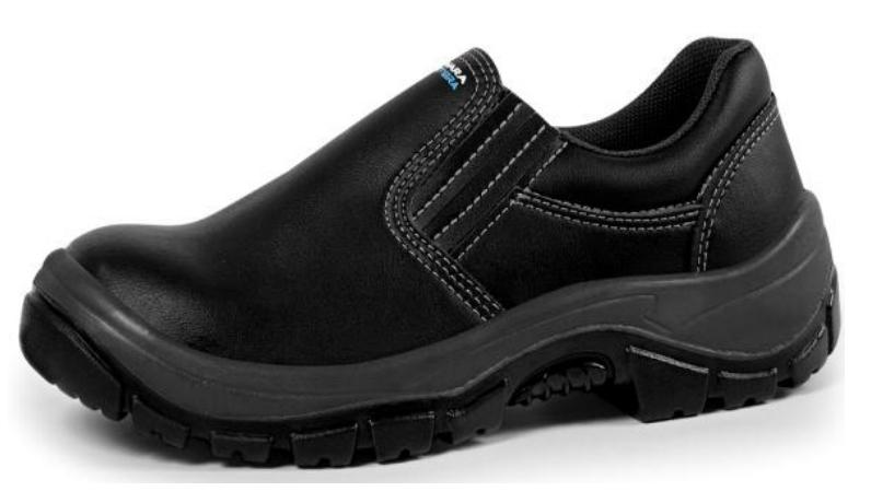 Sapato microfibra com elástico