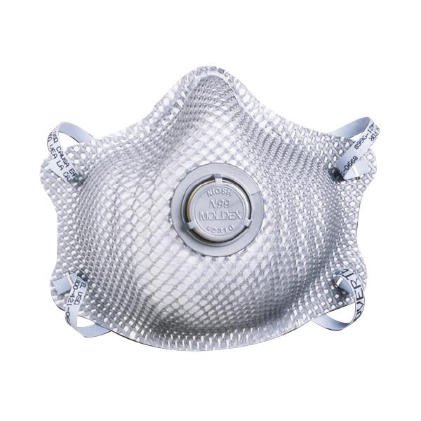 Respirador descartável PFF3 N99 com válvula