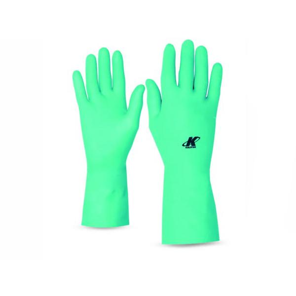 Luva nitrílica forrada - Verde