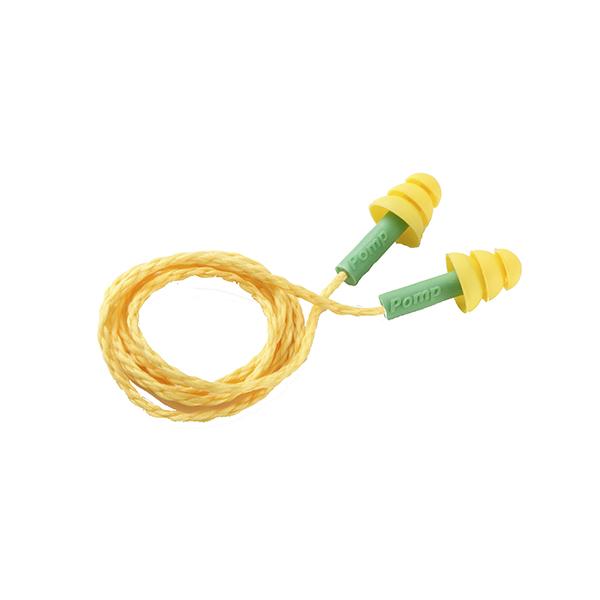 Plug em silicone Pomp Millenium com cordão de silicone