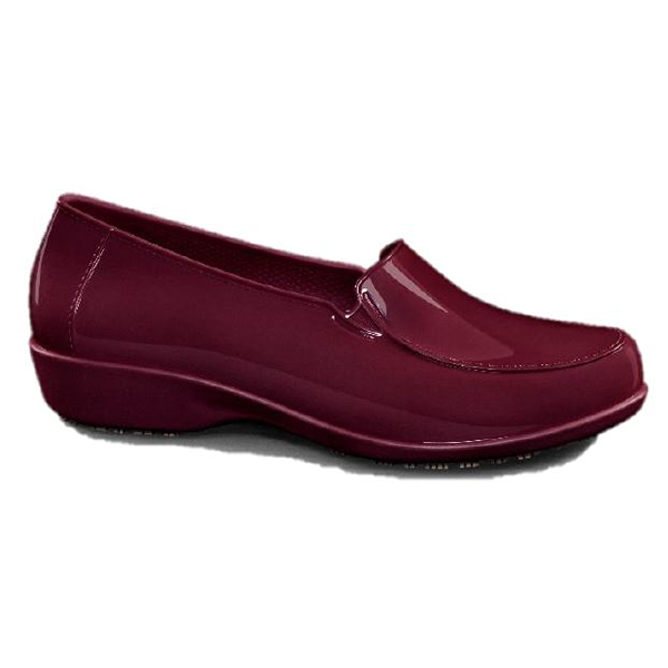 Sapato social ocupacional vermelho Sticky Shoes feminino