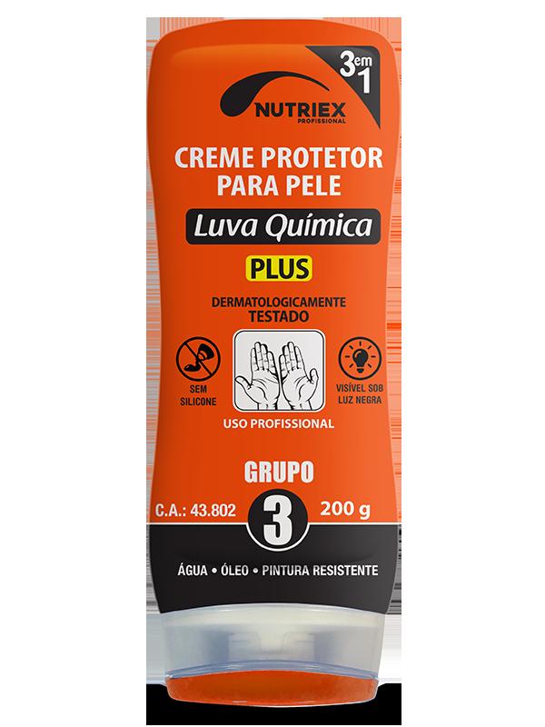 Creme de proteção Luva Química grupo 3 frasco 200g Nutriex