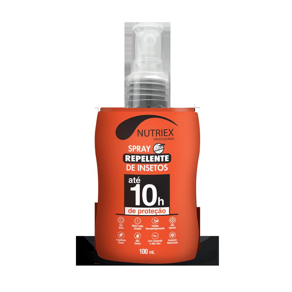 Repelente de insetos spray 10h 100ml Nutriex