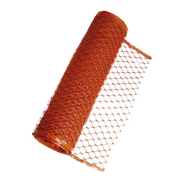Tela de isolamento laranja