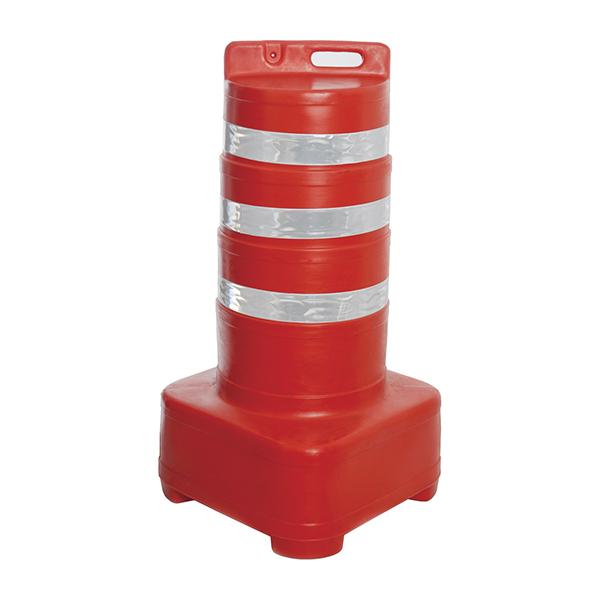 Barril delimitador de tráfego