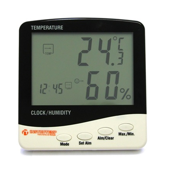 Termo higrômetro digital