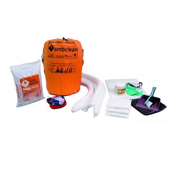 Kit bombona para petróleo e derivados - 50L