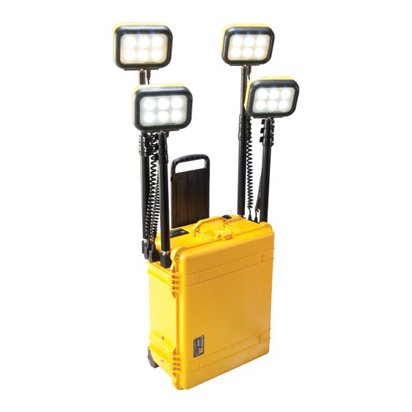 Sistema de iluminação remota 4 Refletores LED 8000