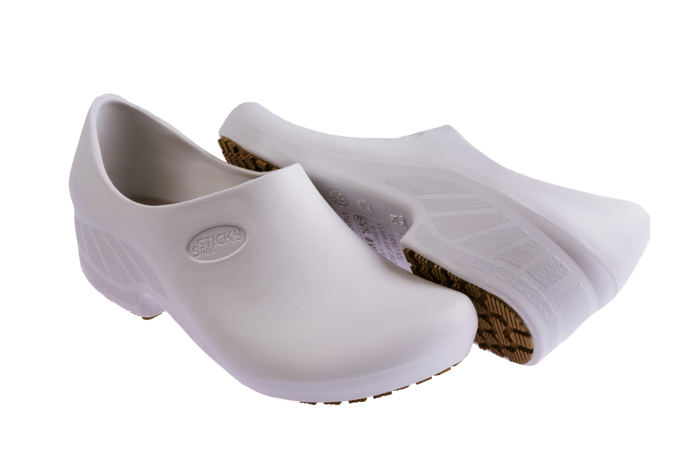 Sapato ocupacional Sticky Shoe branco - Feminino